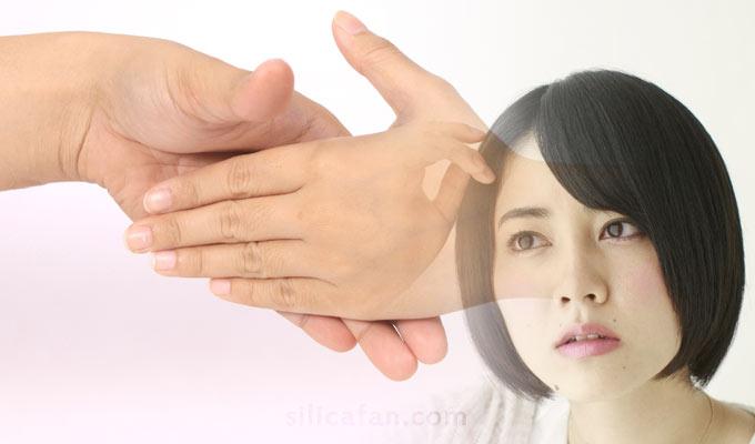 爪や髪の老化とシリカの関係